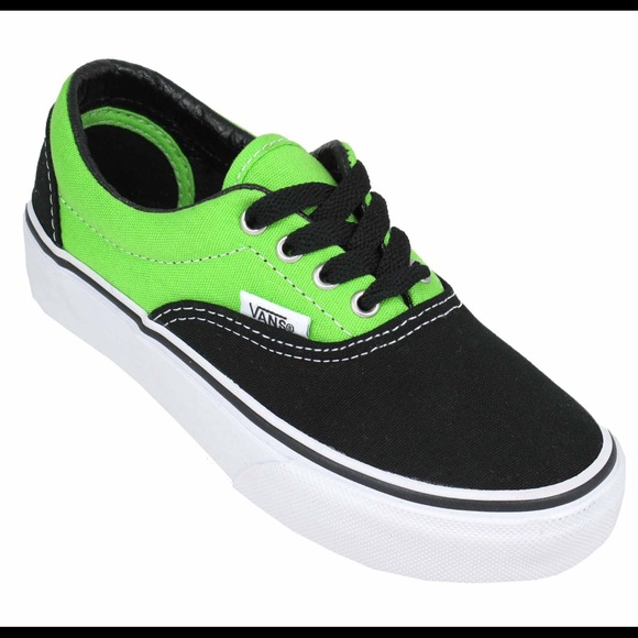 64e933330a ... Neon Green and Black Vans. M 5a6e38d82c705ded2f0af43a